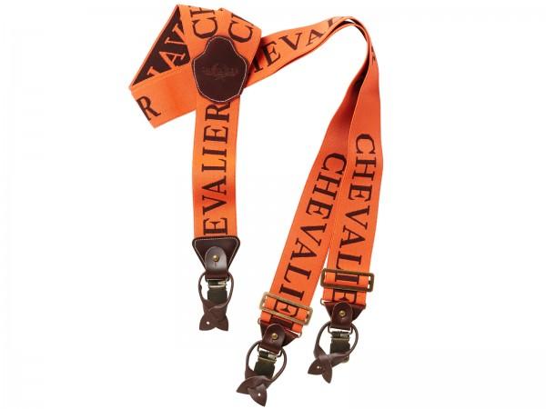 Chevalier Hosenträger Suspenders 50mm C/S (Orange)