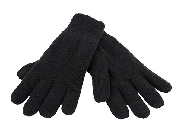 Handschuhe mit Thinsulate Wärmeisolierung (schwarz)