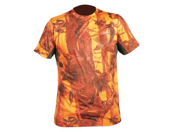 Hart Crew-S T-Shirt (camo blaze)