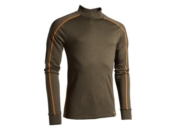 Northern Hunting Asthor Lue Langarm Unterhemd (Dark Oliv)