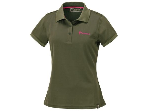 Pinewood Ramsey Damen-Poloshirt (Grün)