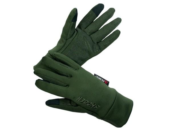 Skogen Polartec Handschuhe Power-Stretch (dunkeloliv)