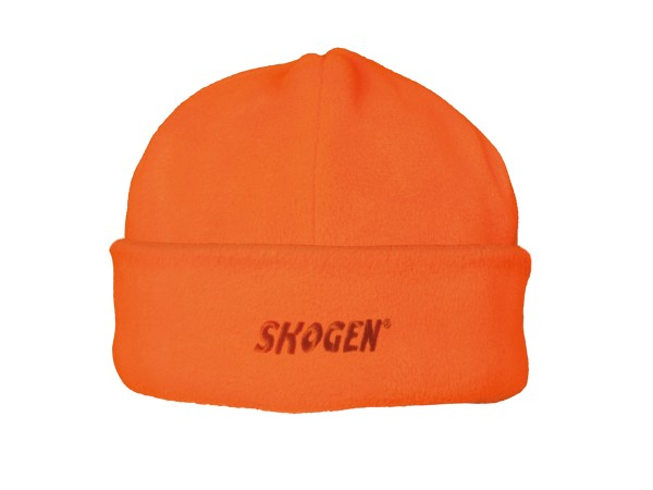 Skogen Mütze mit Logo-Stickerei (orange)