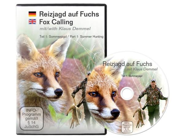 Reizjagd auf Fuchs mit Klaus Demmel - Sommerjagd (DVD)