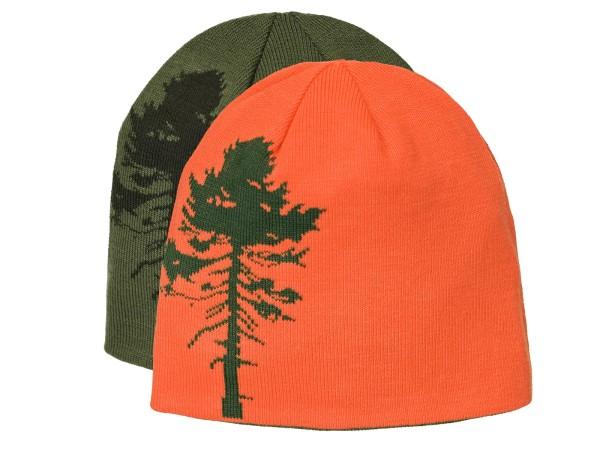 Pinewood Tree Wende-Mütze (Grün/Orange)