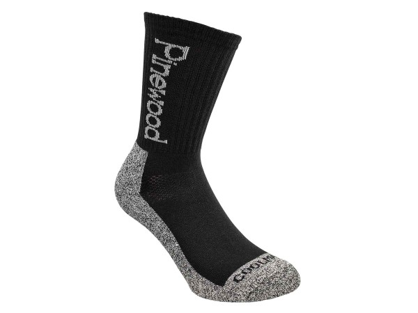 Pinewood Coolmax Socken 2-Pack (Schwarz)