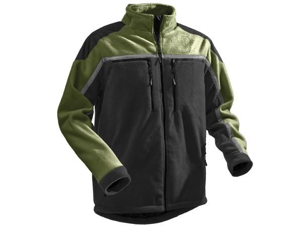 Pfanner Jobby Colour Fleecejacke schwarz-grün