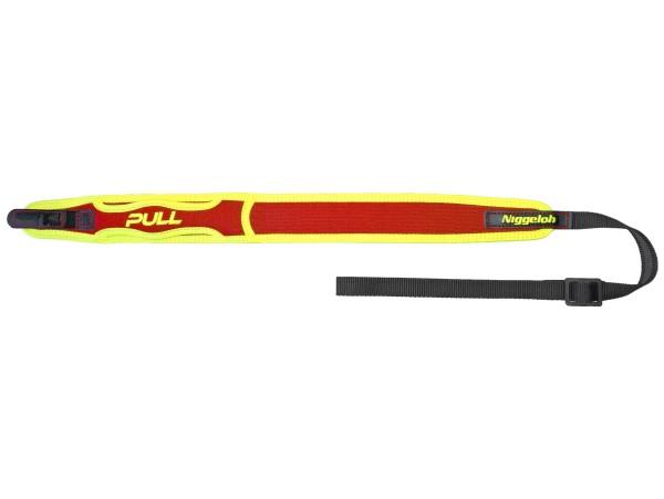Niggeloh Pull Trail Gewehrgurt Neopren mit SV (gelb-rot)