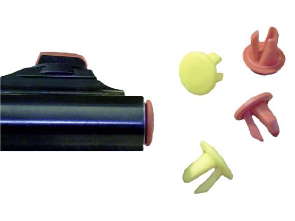 Gun Plugs 10 St. (Rot/Gelb)