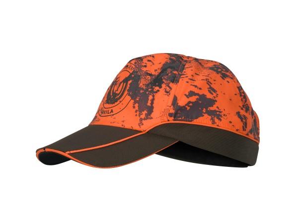 Härkila Wildboar Pro Kappe (AXIS MSP® Orange Blaze/Shadow brown)