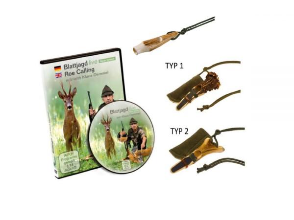 Rottumtaler Blattjagd Set III (Blatter, Kitzfiep, DVD)