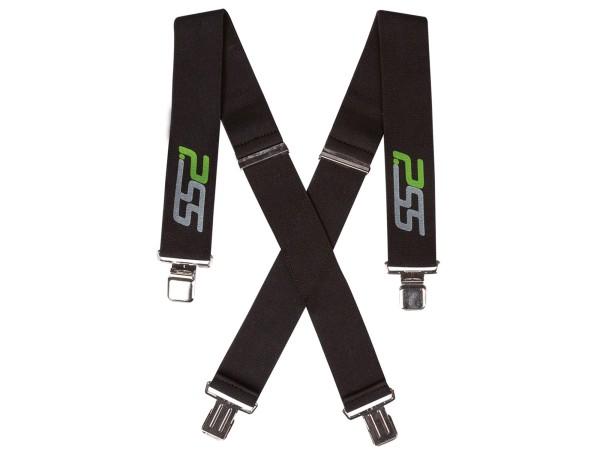 PSS Hosenträger mit Clips (schwarz)