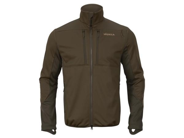 Härkila Mountain Hunter Pro WSP Fleecejacke (Hunting green/Shadow brown)