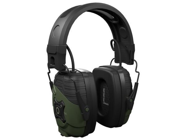 ISOtunes Sport Defy aktiver Kopfhörer-Kapselgehörschutz (Jägergrün)