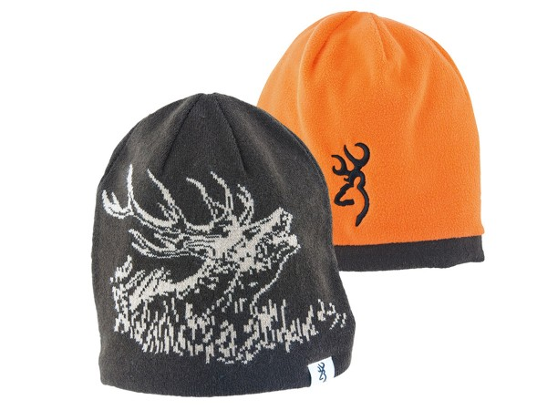 Browning Deer Scene Wendemütze (schwarz/orange)