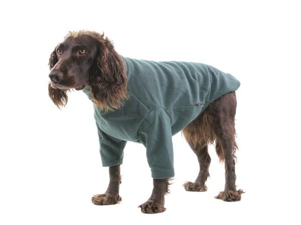 Hundepullover Fleece Hotterdog Dog Jumper (Grün)