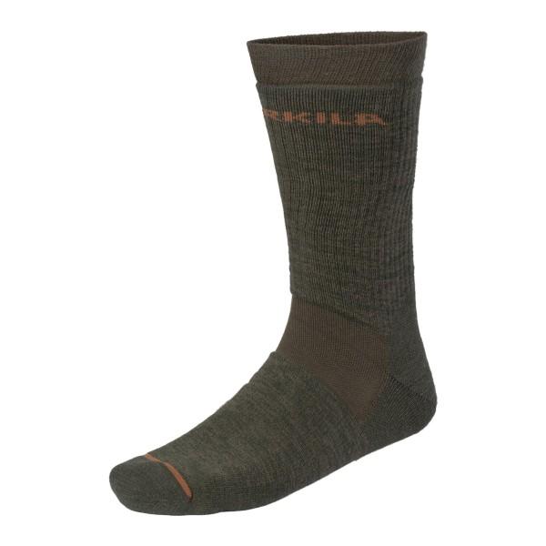 Härkila Pro Hunter 2.0 Socken kurz (green/brown)