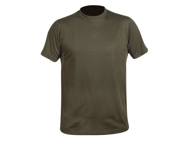 Hart Crew-S T-Shirt (oliv)