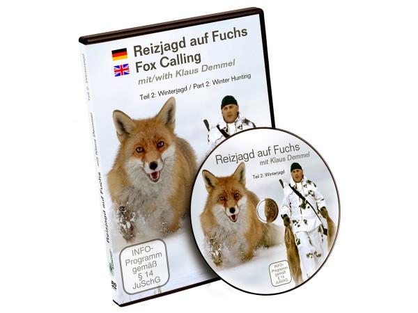 Reizjagd auf Fuchs mit Klaus Demmel - Winterjagd (DVD)