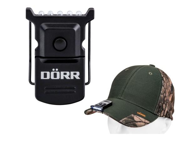 Dörr Micro LED Cap Light CL-5 mit Clip