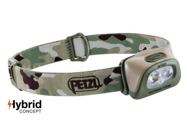 Petzl Stirnlampe Tactikka + RGB (camo)