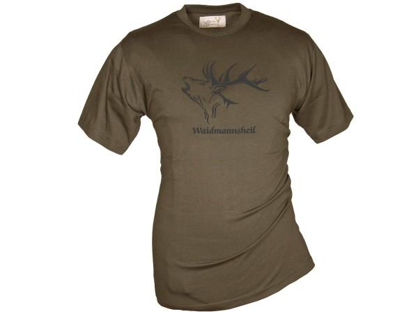 Hubertus T-Shirt Waidmannsheil (schilf)