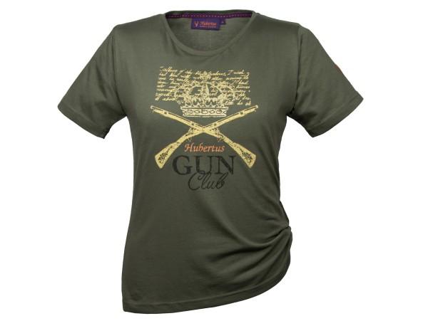 Hubertus Gun Club T-Shirt Damen (moos)