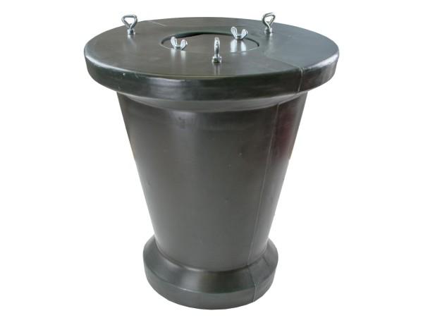 Eurohunt Vorratsbehälter für Futterautomaten (olivbraun)