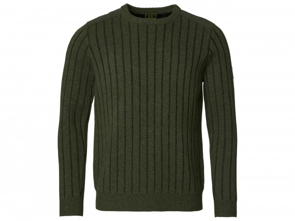 Chevalier Fjord Plated RN Sweater (grün)