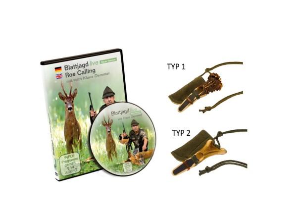 Rottumtaler Blattjagd Set II (Blatter, DVD)