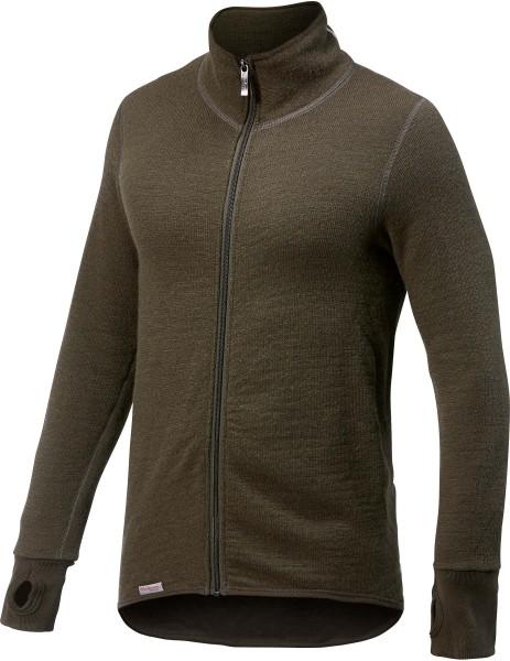 Woolpower Full Zip Jacket 400 (pine green)