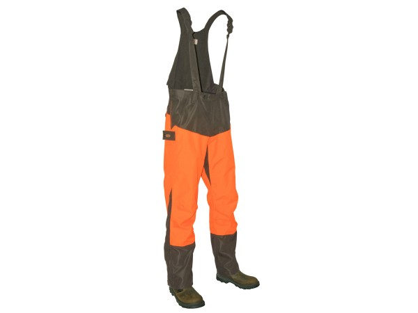 Hubertus Dog Keeper Hose (oliv/orange)