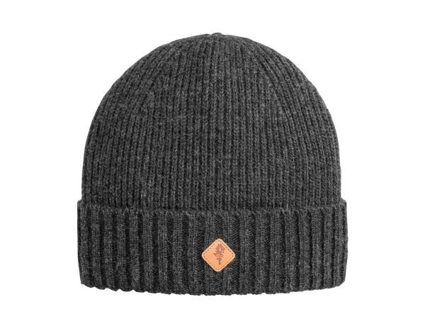 Pinewood Wool Knitted Mütze (dkl. Anthrazit Melange)