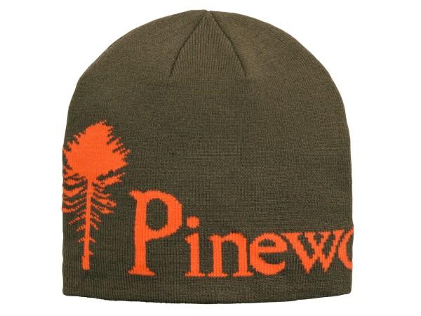 Pinewood Melange Mütze (Grün/Orange)