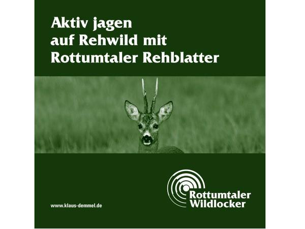 Blattjagd mit dem Rottumtaler Rehblatter (CD)