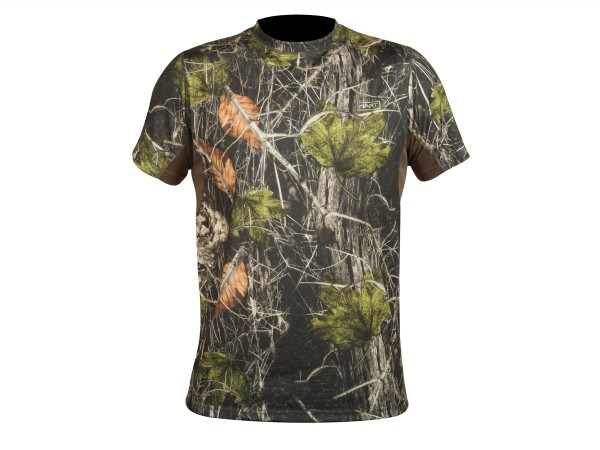 Hart Crew-S T-Shirt (camo forest)