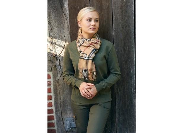 Hubertus Ladies Pullover (oliv)