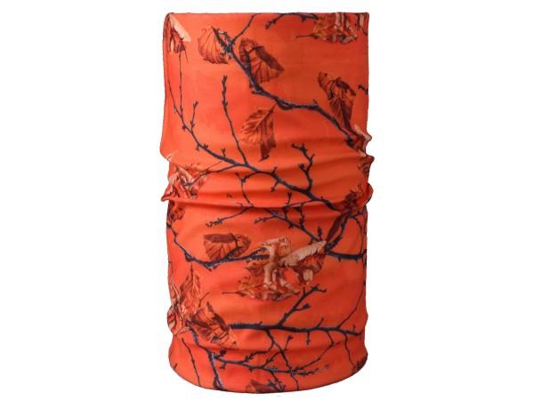 Camokönig Multifunktionstuch 3D-Camouflage (orange)