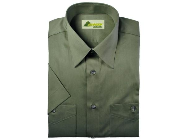 Skogen Basic Jagdhemd 1/2-Arm (oliv)
