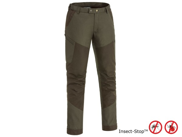 Pinewood Tiveden TC-Stretch Hose Insect-Stop (Darkolive/Suede Brown)