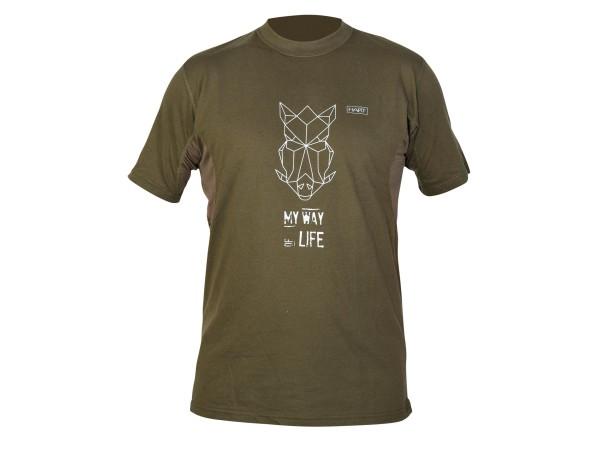Hart Branded Wildpig T-Shirt (grün)