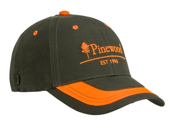 Pinewood 2-Color Cap (moosgrün/orange)