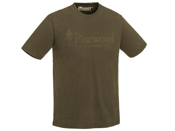 Pinewood Outdoor Life T-Shirt (oliv)