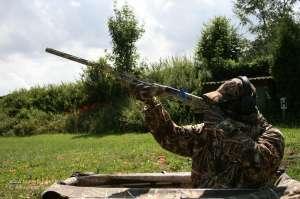 Jäger schießt aus dem Hitman Layout Blind Max-4
