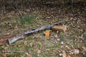 Selbstladeflinte im Tarnmuster Max-4 für die Krähenjagd, Gänsejagd mit passender Munition