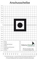 Hubertus-Fieldsports Anschussscheibe für den Schießstand